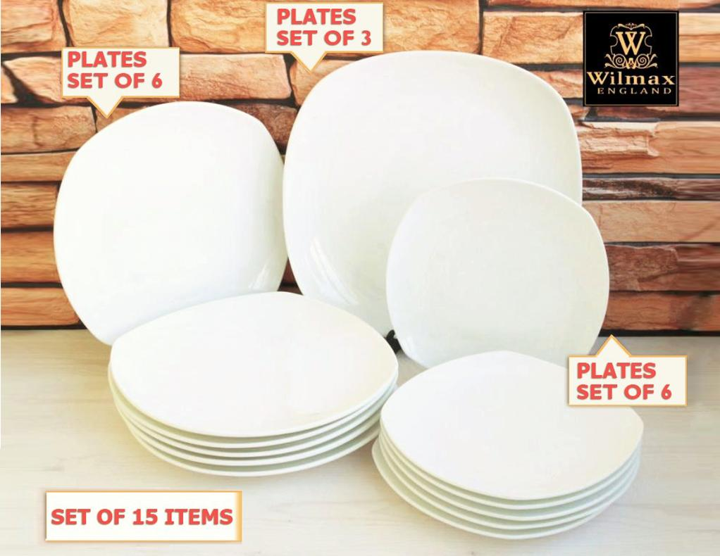 Fine Dinning 15 Piece Hipster Entertaining Set WL-555003  ⠀⠀⠀⠀
