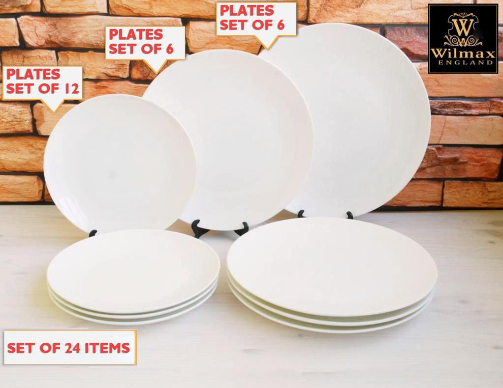 Fine Dinning 24 Piece Entertaining Set For 6 WL-555007  ⠀⠀⠀⠀⠀⠀⠀⠀⠀⠀⠀⠀