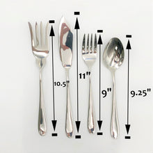 Stainless Steel Four (4) Piece Large Serving Set Great For Entertaining  WL-555052