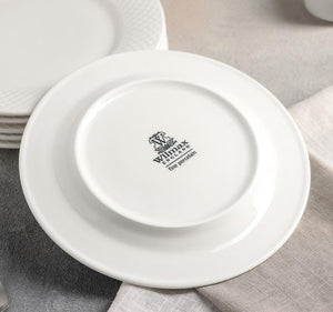[A] Fine China Porcelain Dessert Plate 8"