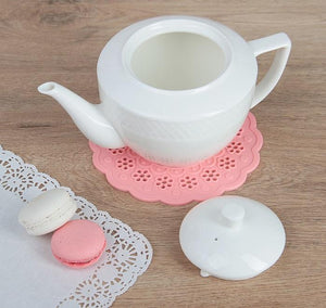[A] Fine Porcelain Teapot 30 Oz | 900 Ml In Gift Box WL-880110/1C
