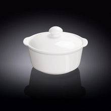 "10 OZ | 300 ML SOUP CUP WITH LID4.5"" X 11.5 CM - WILMAX PORCELAIN WILMAX"
