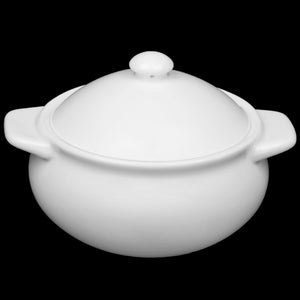 [A] Fine Porcelain Baking Pot 21 Oz | 620 Ml WL-997015/A