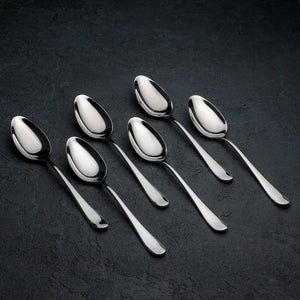 [D **] High Polish Stainless Steel Dinner Spoon 8"