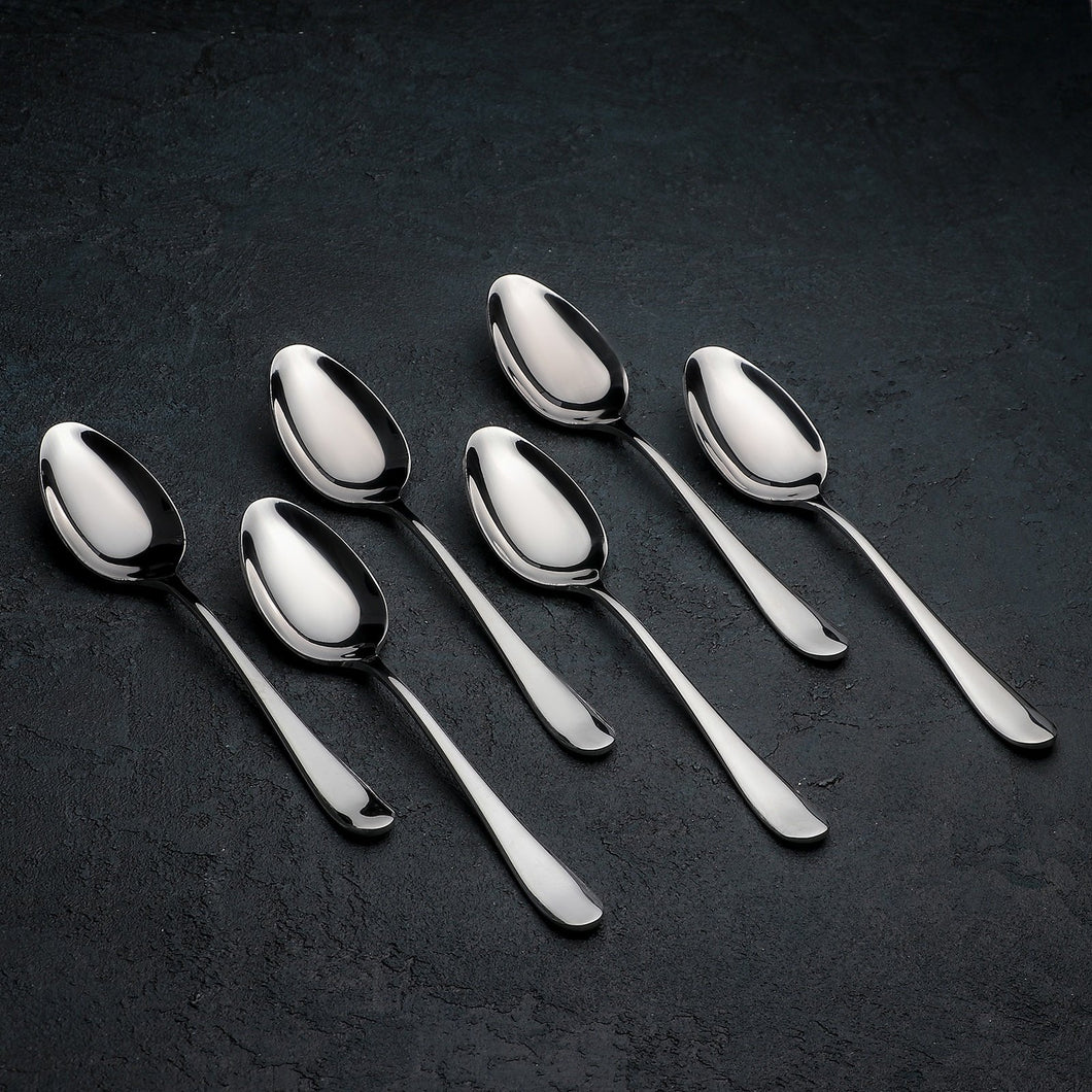 [D **] High Polish Stainless Steel Dinner Spoon 8