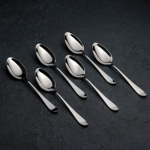 [D **] High Polish Stainless Steel Teaspoon (Mug)  6.5