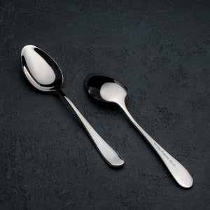 [A] High Polish Stainless Steel Dinner Spoon 8"