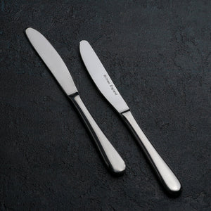 [A] High Polish Stainless Steel Dinner Knife 8.5"