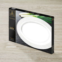 "[A] Fine Porcelain Oval Platter 14"" X 10"" 