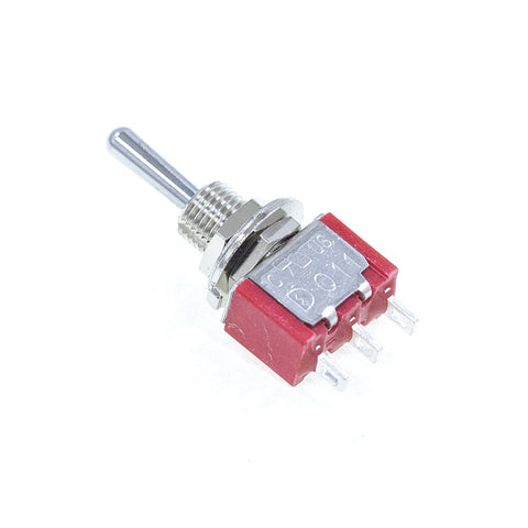 <b>TS-1MS3T1B1M1QE</b><br>SPDT On-Off-On<br>Solder Lug<br>Toggle Switch