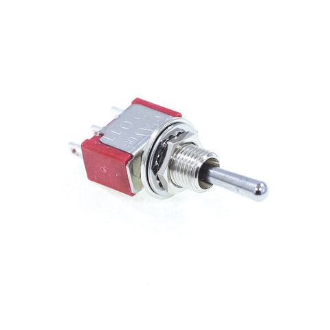 <b>TS-1MS3T1B1M1QE</b><br>SPDT On-Off-On<br>Solder Lug<br>Toggle Switch - Mammoth Electronics