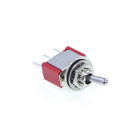 <b>TS-1MS1T2B3M2QE</b><br>SPDT On-On<br>PCB Mount<br>Toggle Switch