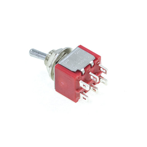 <b>TS-1MD1T2B3M1QE-1</b><br>DPDT On-On<br>Solder Lug<br>Toggle Switch