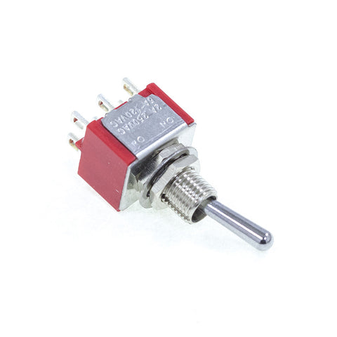<b>TS-1MD1T1B1M1QE</b><br>DPDT On-On<br>Solder Lug<br>Toggle Switch