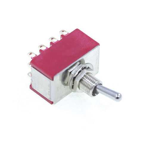 <b>TS-1M41T1B1M1QE</b><br>4PDT On-On<br>Solder Lug<br>Toggle Switch