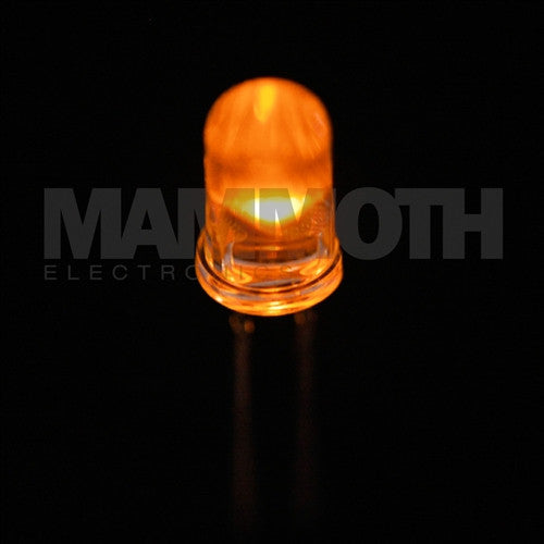 <b>L7113NC</b><br>5mm LED - <i>Orange</i> - Mammoth Electronics