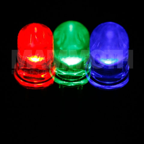 <b>WP154A4SUREQBFZGC-RDGRBL</b><br>5mm LED - <i>Red/Green/Blue</i> - Mammoth Electronics
