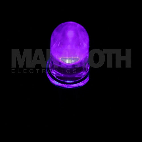 <b>L7113PC</b><br>5mm LED - <i>Violet</i> - Mammoth Electronics
