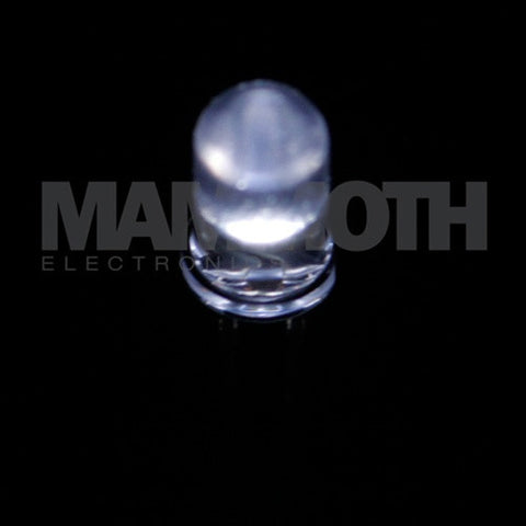 <b>WP7113QWC/D</b><br>5mm LED - <i>White</i> - Mammoth Electronics
