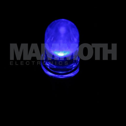 <b>WP7104QBC/D</b><br>3mm LED - <i>Blue</i> - Mammoth Electronics
