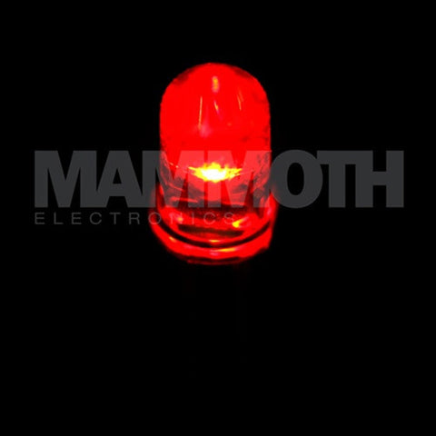 WP7104SRC/F 3mm LED (Red) (LED) - Mammoth Electronics