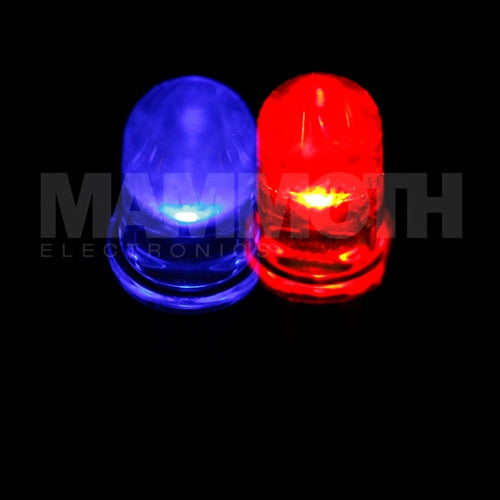 WP115WEBW-RDBL 3mm LED (Red/Blue) (LED) - Mammoth Electronics