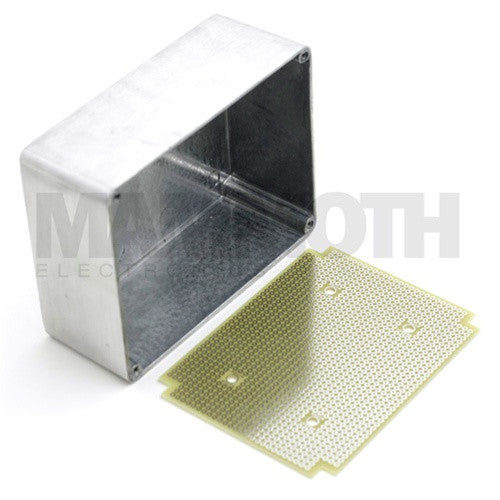 <b>1590BB Perf Board</b><br><i>Fits 1590BB, BBM, & BBT Enclosures</i> - Mammoth Electronics