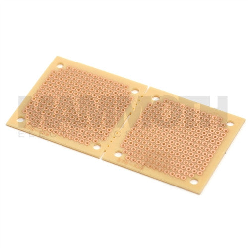 <b>90x45mm Vero Board</b><br>Perforated Dual 45x45mm - Mammoth Electronics