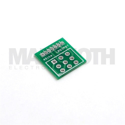 Large 3PDT Wiring Board - Mammoth Electronics
