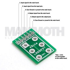 Large 2PDT Wiring Board - Mammoth Electronics