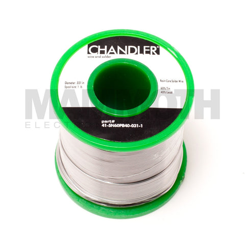 CHANDLER SN60PB40  Solder Spool - Mammoth Electronics