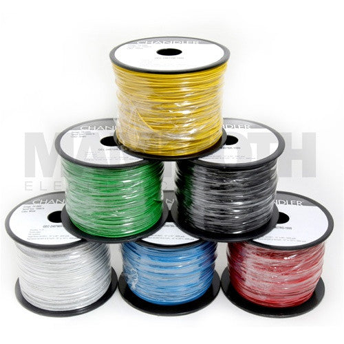 24AWG 1000ft Spools : UL1007/1569 Stranded Hookup Wire - Mammoth Electronics