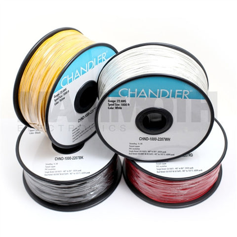 <b>UL1007 Stranded Wire</b><br>22AWG<br><i>1000ft Spool</i> - Mammoth Electronics