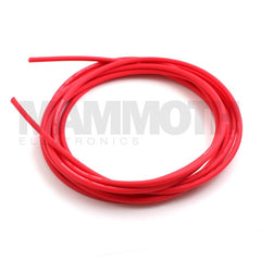 <b>Sound Vein Instrument Cable</b><br>4mm - Red<br>Low Capacitance<br><i>Chandler Sound</i> - Mammoth Electronics