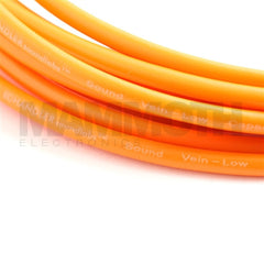 Chandler Sound Vein Orange - Low Capacitance Instrument Cable - Mammoth Electronics