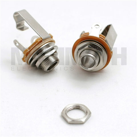 "Nut Replacement for 4SJK100 Open 1/4""  Jacks - Mammoth Electronics"