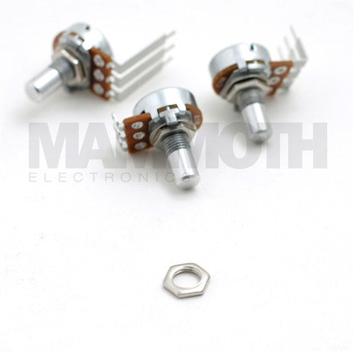 "Nut Replacement for Alpha 0.25"" Shaft Potentiometers - Mammoth Electronics"