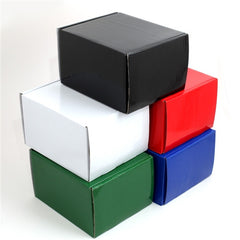 "High-Gloss Corrugated Shipping/Storage Boxes (5.65"" x 4.75"" x 3.5"") - Mammoth Electronics"