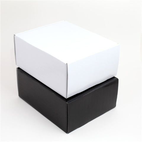 "High-Gloss Corrugated Shipping/Storage Boxes (7.5"" x 6.5"" x 3.5"") - Mammoth Electronics"