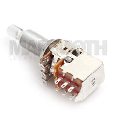 Alpha Long Shaft 16mm Push/Pull Guitar Potentiometer - Mammoth Electronics