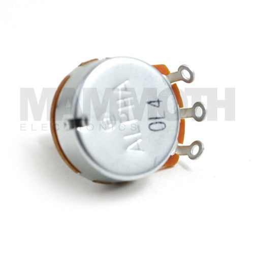 Alpha 24mm Single Gang Solder Lug Potentiometers - Logarithmic (A) - Mammoth Electronics