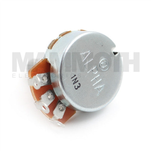 Alpha 24mm Single Gang Solder lugs Potentiometer - Mammoth Electronics
