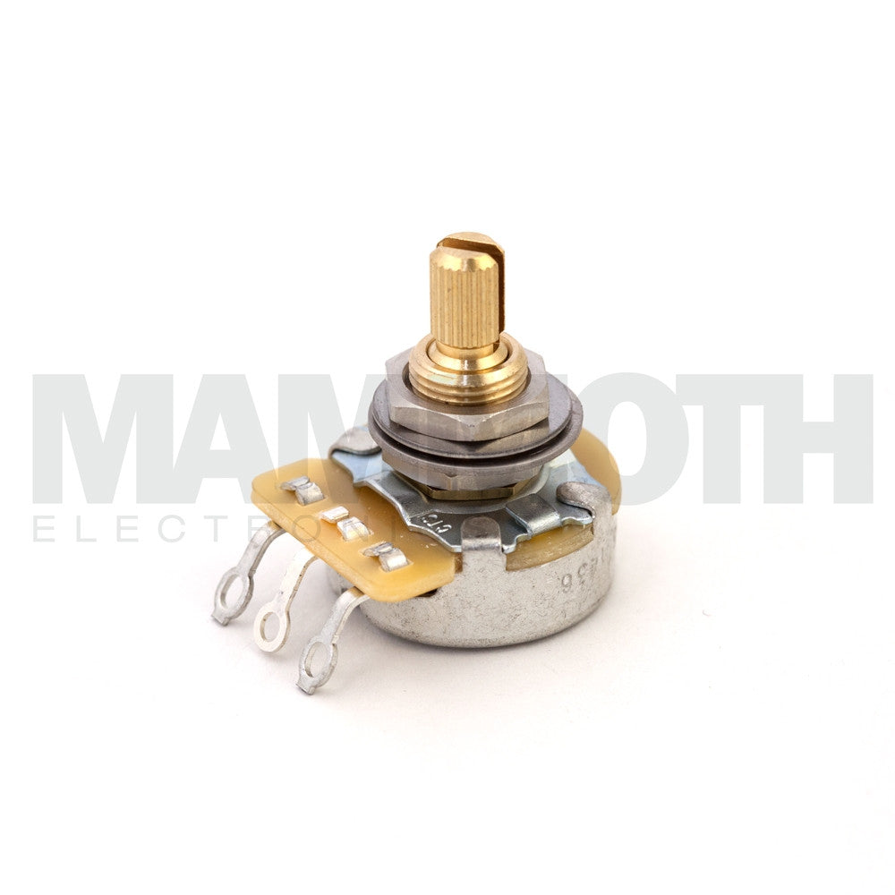 "Emerson PRO CTS - Blender Short (3/8"") Split Shaft Potentiometer - Mammoth Electronics"