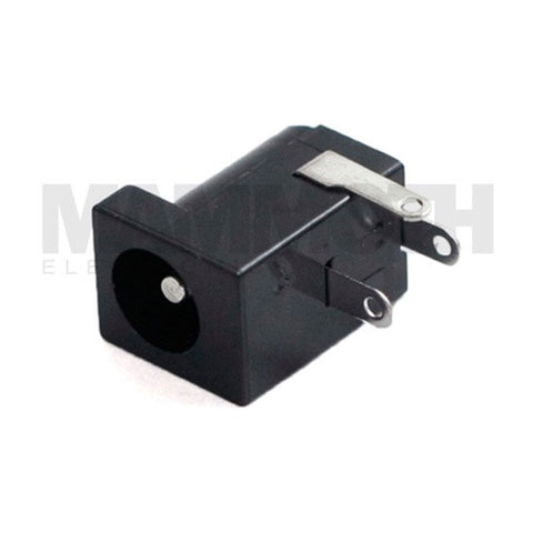 <b>JK-102DC</b><br>Square DC Power Jack<br>Board Mount - Mammoth Electronics