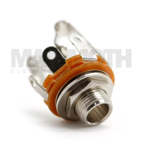 "<b>JK100S</b><br>1/4"" Stereo Open Jack<br><i>Mammoth Electronics</i> - Mammoth Electronics"