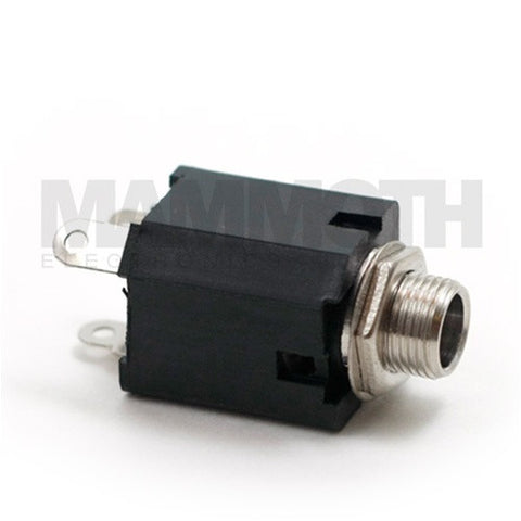 "<b>JK102M</b><br>1/4"" Mono Enclosed Jack<br><i>Mammoth Electronics</i> - Mammoth Electronics"