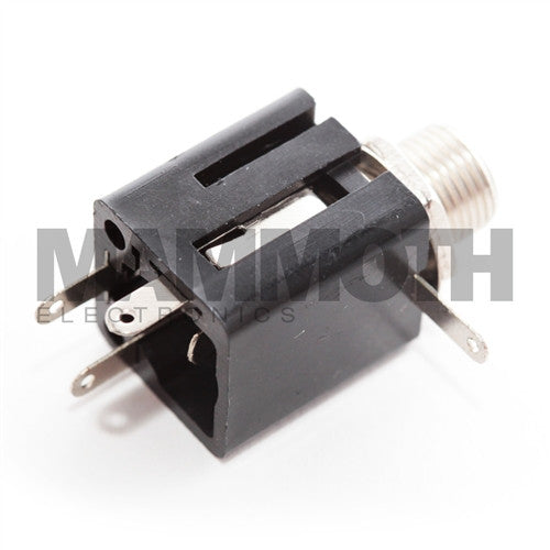 "<b>JK102S</b><br>1/4"" Stereo Enclosed Jack<br><i>Mammoth Electronics</i> - Mammoth Electronics"