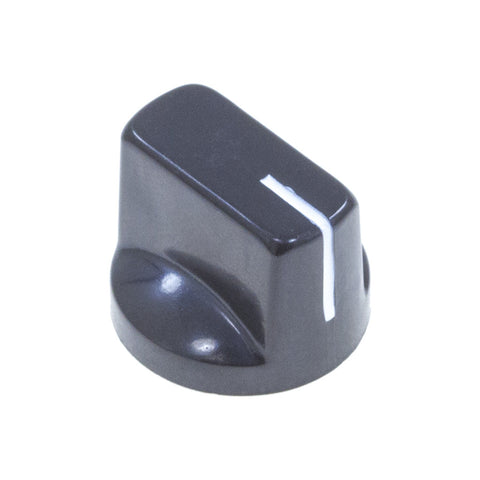 1510 Black Plastic Knob (19 x 14mm) - Mammoth Electronics