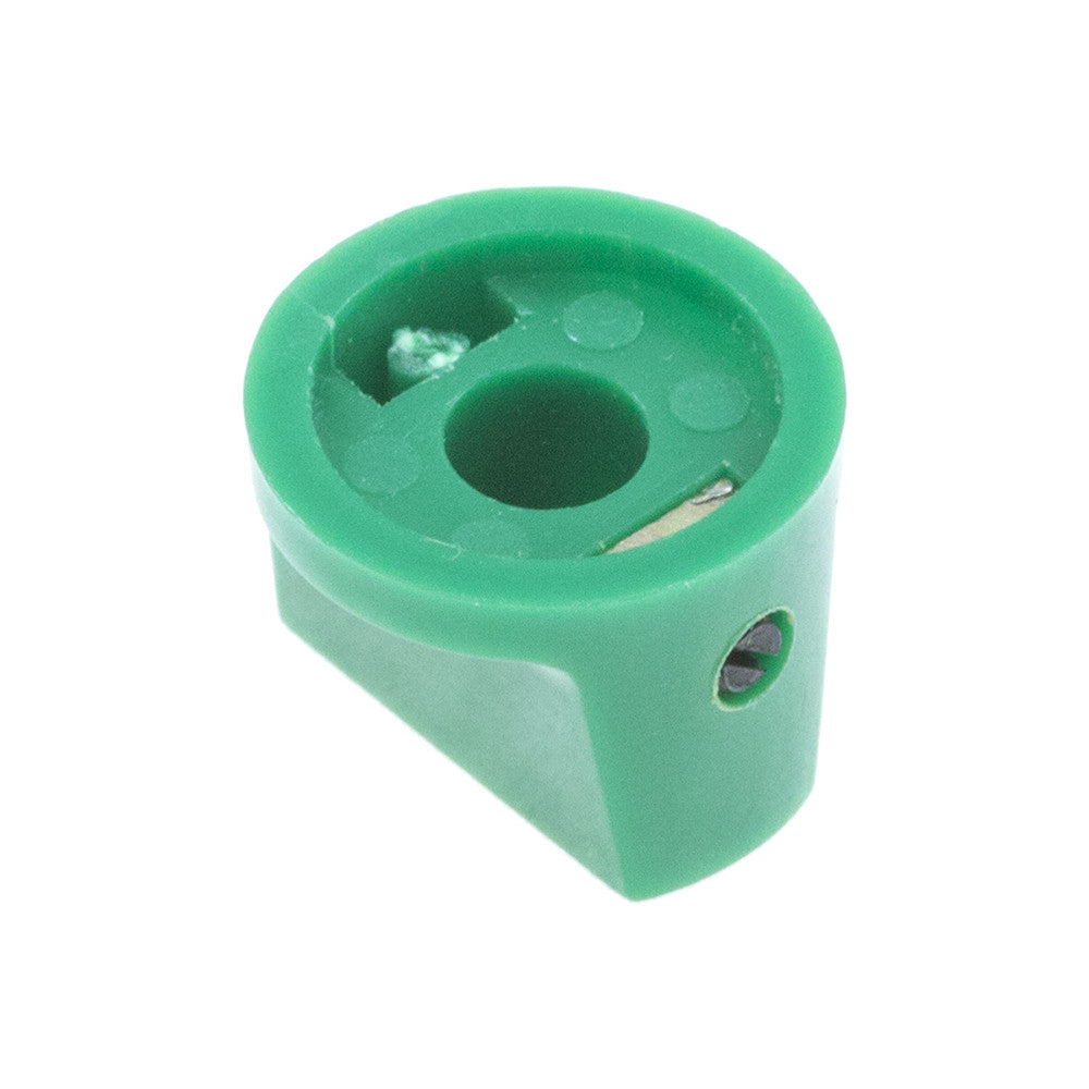 1510 Green Plastic Knob (19 x 14mm) - Mammoth Electronics