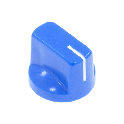 1510 Blue Plastic Knob (19 x 14mm) - Mammoth Electronics